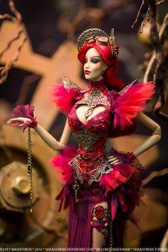 Steampunk Doll by Shaadorian Steampunk Dolls, Mode Steampunk, Steampunk Fashion, Diva Dolls, Barbie Dolls, Art Dolls, Barbie Mode, Barbie Style, Fashion Royalty Dolls