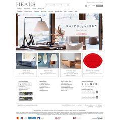 Top retailing websites - heals