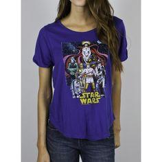 Cute shirt! Star Wars - Comic Book Poster Women T-Shirt