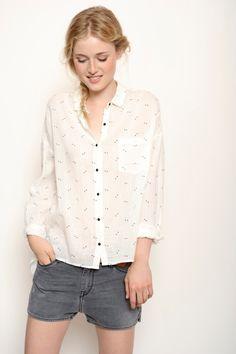 Chemise Kabam ecru - Blouses et chemises - categories - e-shop