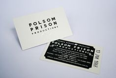FOLSOM PRISON PRODUCTIONS on Behance