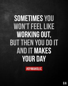 Sometimes you wont feel like working out Motivation fitness transformation Fitness Studio Motivation, Gym Motivation Quotes, Gewichtsverlust Motivation, Weight Loss Motivation, Exercise Motivation, Lifting Motivation, Weight Lifting Humor, Exercise Quotes, Fitness Inspiration Quotes
