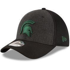 26a0430091e Michigan State Spartans New Era Heathered Neo 39THIRTY Flex Hat - Black