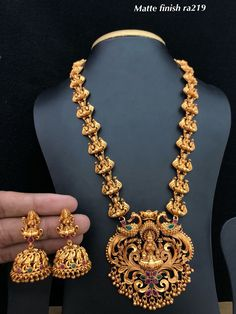 931 Best gold Temple jewellery images in 2019 | Gold temple
