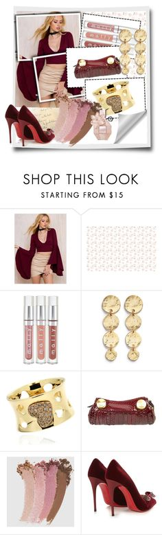 """""""Spring 2017"""" by airin-flowers ❤ liked on Polyvore featuring Kenneth Jay Lane, Fendi, Gucci and Christian Louboutin"""