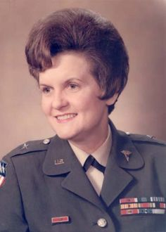 On June 11, 1970, Colonel Anna Mae Hays, Chief, Army Nurse Corps - She became the first woman in the history of the U.S. Army to attain general officer rank.