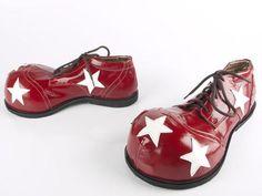 Kengät - Clown Shoes: Pantof Alb Negru | Parikuva