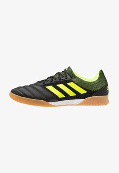 check out caa43 f589f adidas Performance COPA 19.3 IN SALA - Indoor football boots - core black solar  yellow
