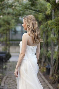Wedding hair, wedding dress by Vera Wang, Click Photo Co.