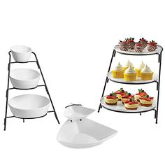 Arrange a delicious and tempting spread of food and appetizers using B. Smith& collection of party serveware, crafted in white porcelain. Cool Kitchen Gadgets, Cool Kitchens, Kitchen Items, Diy Kitchen, Kitchen Tools, House Essentials, Party Buffet, Buffet Set, Diner Recipes