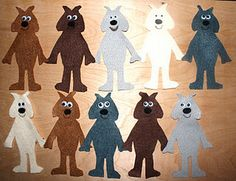 Let's Count Goats Flannel Board