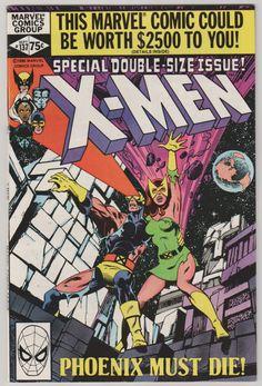 Uncanny X-Men, Vol 1, 137, Bronze Age Comic Book. VF/NM (9.0)  Sept 1980.  Marvel Comics #xmen #jeangrey #comicsforsale