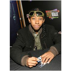 Ray Ray in Mindless Behavior Celebrates #1 Girl Album Release With An... ❤ liked on Polyvore