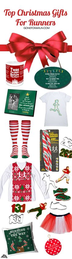 Are you completely lost when it comes to Christmas running gifts? There's no reason to be! Especially not when we're here to help! GoneForARUN has BibFOLIOS, medal displays, statement shirts, PR Soles, jewelry, and everything in between! Most products can be personalized with a name or race details, too! Find these awesome Christmas themed running gifts exclusively at GoneForARUN.com.