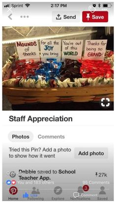 employee appreciation gifts valentines