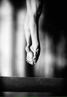 """"""" I dance because there's no greater feeling in the world than moving to a piece of music and letting the rest of the world disappear. """""""
