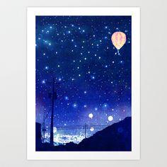 A night in Seoul #02 Art Print by Hajin  Bae - $14.56