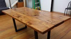 reclaimed wood dining table Urban Beaver SF