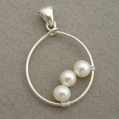 Three Pearls (P-SS-0021) by Starry Designs, via Flickr