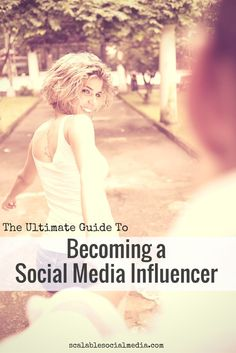 Becoming a social media influencer
