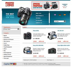 Photo & osCommerce Templates by Maxwell