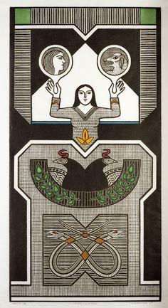 Xilogravuras de Gilvan Samico compõem exposição na Caixa Cultural | Catraca Livre