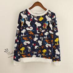 snoopy Sweatshirt. $12.49