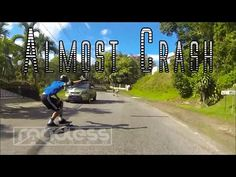 Team rider Rainier almost crash | Raw Run - YouTube