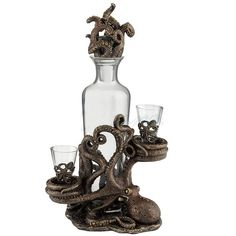 Octopus Decanter Set | Unicorn Studios