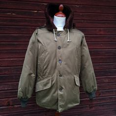 Buzz Rickson's B-9 Jacket. (parka, army air forces, cotton twill, made in japan)