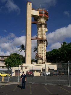 Submarine escape training tower, Pearl Harbor