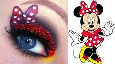 GlitterGirlC on YouTube does a fantastic job of recreating signature Disney characters as beautiful eye shadow works! Can't wait to do this look as part of my Disney bound in June!
