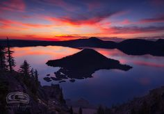 """""""CRATER LAKE"""" by James Fougere; Crater Lake National Park, Oregon"""