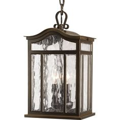 Progress Lighting Meadowlark 15-In Oil-Rubbed Bronze Outdoor Pendant L