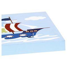 Ahoy Matey Printed Mdf Box 2 Pieces Set, Blue