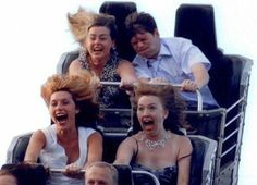 Embarrassing Pictures of People on Roller Coasters