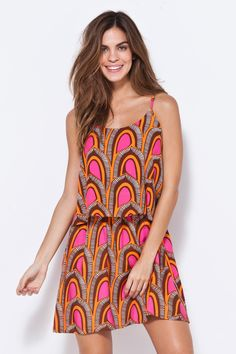 vestidos estampados curtos - Pesquisa Google