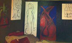 Wall of art  Ethel Lynn Ivory