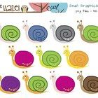 This set of snail graphics can be used in your classroom or in products you sell.The set includes 11 individual png files (transparent background...