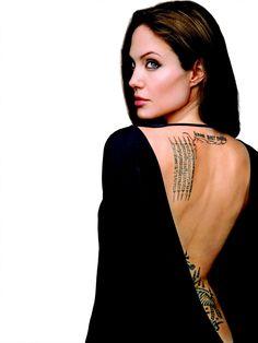 Angelina Jolie by Patrick Demarchelier