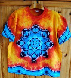 Batikované+tričko+XXL+-+Oheň+a+voda+Originální,+pánské,+batikované+tričko,+velikost+XXL.+128cm+přes+prsa,+délka+74cm,+vysoká+gramáž+180g/m2.+Barveno+kvalitními+barvami,+prát+v+ruce,+návod+na+údržbu+bude+přiložen.+Možno+odebrat+a+vyzkoušet+v+Brně. Tie Dye, Fashion, Moda, Fashion Styles, Tye Dye, Fashion Illustrations