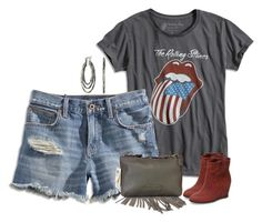 """""""Lucky Brand Outfit"""" by majezy ❤ liked on Polyvore featuring Lucky Brand"""