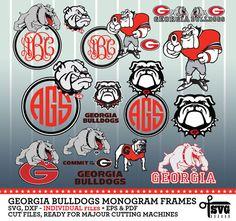 Hey, I found this really awesome Etsy listing at https://www.etsy.com/listing/476541385/georgia-bulldogs-monogram-frames