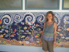 mosaic mural santa cruz california bethpurcellmosaics
