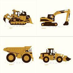 Dirt Monsters by Powerslide Design Co.   http://postercabaret.com/
