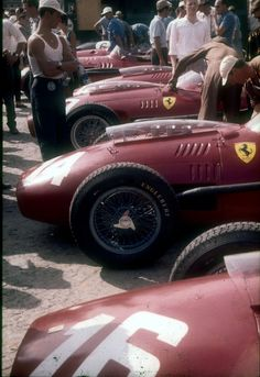 Dino Ferrari, Monza 1958