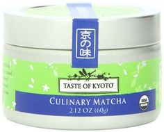 TASTE OF KYOTO Matcha Green Tea, Culinary, 2.12 Ounce >>> Click image to review more details. (This is an affiliate link and I receive a commission for the sales)