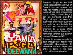 Cine Bollywood Colombia: YAMLA PAGLA DEEWANA