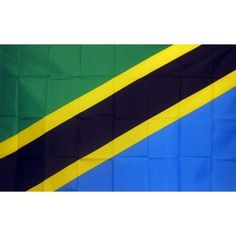 Tanzania Country Traditional Flag
