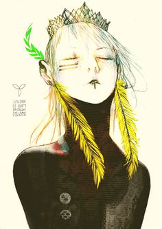 Drawings by artist illustrator Gabriel Iumazark